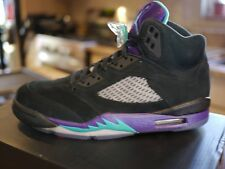 "Nike Air Jordan Retro 5 ""Black Grape"" - DS New in Box Sz 8"