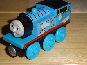 Thomas Friends Roll N' Whistle THOMAS Wooden Railway Tank Engine Lights Sound