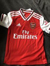arsenal football shirt boys (personalised DYLAN 7) Age 7-8