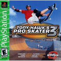 Tony Hawk's Pro Skater 3 Greatest Hits PlayStation 1 PS1 Game Complete *CLEAN VG