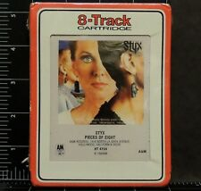 Styx Pieces of Eight ST 4724 8 Track A&M Records New Sealed 70s' Classic Rock