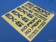 Vintage KO PROPO EX-5 Decal
