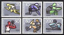 Yugoslavia - 1964 Olympic games Tokyo - Mi. 1076-81 MH