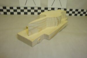 Pinewood Derby Pre-cut, #187 Sword Fish!.... It's Different!
