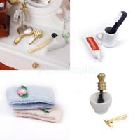 1:12 Dollhouse Miniature Bathroom Luxury Accessories 12pcs Set