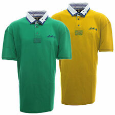 St Moritz Poloshirt Polo Shirt Herren Baumwolle Kurzarm Polohemd
