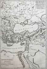 Roman Empire 1787 east of Rome, Mediterranean Black Sea by Bonne, antique map