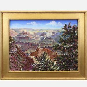 BETTY MINNUCCI Listed GRAND CANYON Impressionist Pastel c.2000