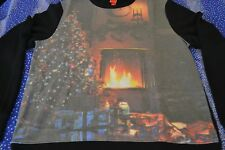 """Christmas Ugly Sweater """"Xmas Fireplace"""" By: Target Men's Size: Medium (M) NWT"""
