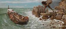 Odysseus and Polyphemus Arnold Böcklin griechische Mythologie Held B A3 00674