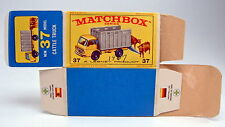 "Matchbox RW 37C Cattle Truck leere originale ""E2"" Box"