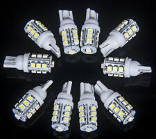 10x T10 Xenon White 13-LED W5W 912 921 Bulbs Car Reverse Interior Exterior Light