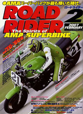 [BOOK] ROAD RIDER 2/2007 AMA Eddie Lawson Yoshimura Wes Cooley Ron Pierce Japan