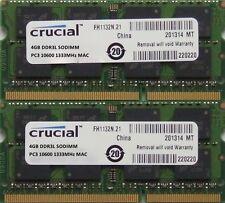 8GB kit ram Pour MacBook Pro 2.2 ghz Intel Quad Core i7 (15-inch DDR3) Fin-2011