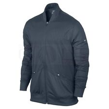 Nike Warm Stretch Full-Zip Cover-Up Jacket 518048 Standard Dri Fit Sphere S Sm