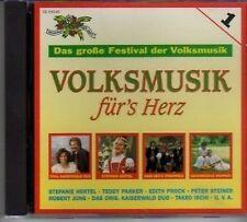 (AT817) Volksmusik Für's Herz - 1993 CD