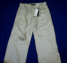 "BNWT WOMEN'S FRENCH CONNECTION TROUSERS + BELT UK6 W26"" L32"" RRP£65 NEW"