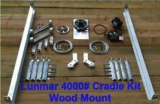 Lunmar 4000# Cradle Kit Wood Mount