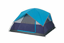 Camping Tent Sleeps 4 Mt64 Garfield  8' x 8' Outdoors  Emergency