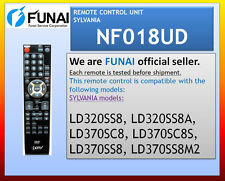 NEW SYLVANIA REMOTE NF018UD LD320SS8 LD370SC8 LD370SC8S LD370SS8 LD370SS8M2
