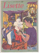 Lisette N°4 du 26 janvier 1958 Jan-Loup, Miguel,  Gellens