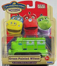 "CHUGGINGTON WOODEN EXCULSIVE GREEN WILSON As seen in ""Hoot vs. Toot"" Episode A1"