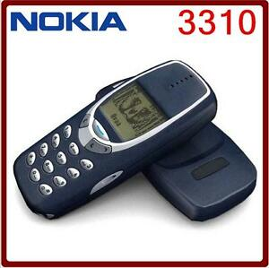 Original Nokia 3310 Cheap Phone 2G GSM 900/1800 Multi Languages