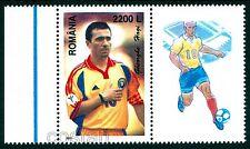 "2001 HAGI,the KING,""Comandante"",Famous Football player,Romania,5571,TAB/H-R1,MNH"