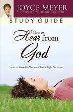 HOW TO HEAR FROM GOD STUDY GUIDE - JOYCE MEYER (PAPERBACK) NEW