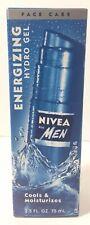 Nivea For Men Energizing Hydro Gel Cools & Moisturizes 2.5oz(75mL)