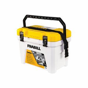 Frabill FRBBA219 19 Quart Capacity Heavy Duty Magnum Tackle Box Bait Station