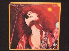 T. REX ~ Light of Love ~ U.S. orig CASABLANCA - 1974 glam ROCK Marc Bolan VG+