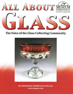 All About Glass 18-4:Kings Crown-Indiana Crown, Dugan opalescent, glass clocks
