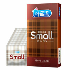 10Pcs Small Size Ultra Thin Latex Condom for Men Sex Products Tight Condoms 45mm