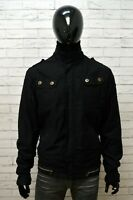 Giubbotto Nero Uomo VOGUE FASHION Taglia XL Giubbino Giacca Invernale Jacket