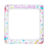 Inflatable Frame Unicorn Frame Photo Booth Props Baby Party Selfie Frame Props