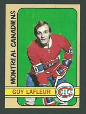 Guy Lafleur Montreal Canadiens 1972-73 Topps Card #79
