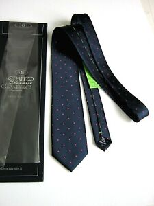 Luxury Graffeo Sartorial Limited Edition Pure Silk Made IN Italy By Italcinte