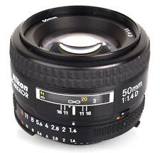 Nikon AF NIKKOR 50mm f/1.4D - 2 year warranty