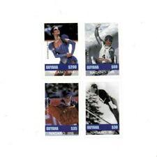 Guyana - 1997 - Pre Winter Olympics - Set Of 4 Stamps - MNH