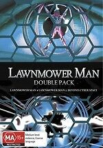 Lawnmower Man 1 + 2 Beyond Cyberspace Double Pack * NEW DVD *