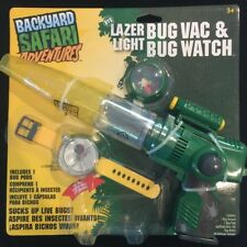 Backyard Safari Adventures Lazer Light Bug Vac & Bug Watch Combo *NEW* *SEALED*