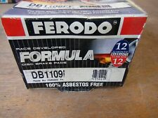 DB1109 Ferodo Race Brake Pads Rear Set For Ford Falcon EA EB ED Fairlane NA NC