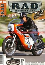 RAD MAGAZINE 10 HONDA CR 750 Daytona CB Four SUZUKI GS TRITON TERROT 135 ACT