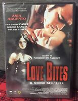 Love Bites Il Morso Dell'Alba (2002) DVD Nuovo Asia Argento Vampiri De Caunes
