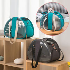 Pet Foldable Carrier Backpack Space Capsule Travel Dog Cat Bag Transparent Bag