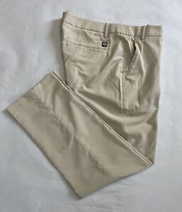 PUMA TECH Mens Golf Pants Beige Size 36x32. 09210054