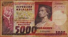 Billets de la banque française 5 000 francs