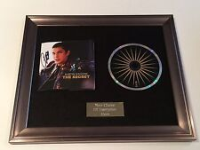 PERSONALLY SIGNED/AUTOGRAPHED AUSTIN MAHONE -THE SECRET FRAMED CD PRESENTATION..