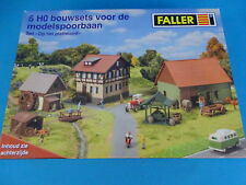 Faller FARM SET Un-build KIT HO